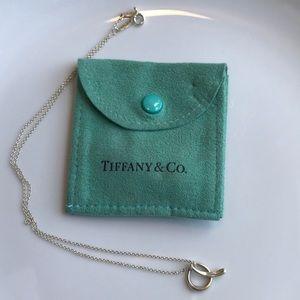"""Tiffany & Co. Elsa Peretti """"A"""" necklace"""